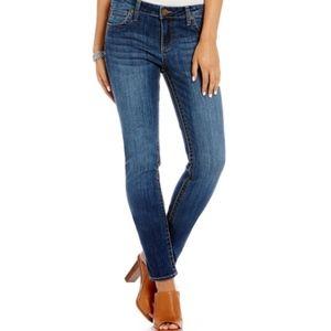 kut from the kloth | diana skinny denim jeans sz 8